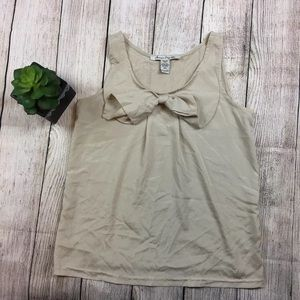 Peter Pan collared sleeveless top